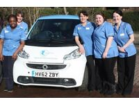 CARE WORKERS- Milton Keynes, Towcester and surrounding villages .Pay rates from £8.60p/h