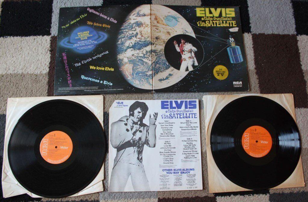 ELVIS PRESLEY - ALOHA FROM HAWAII VIA SATELLITE - DOUBLE VINYL LP