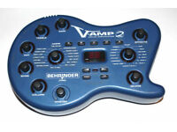 Behringer V-Amp 2 Guitar amp simulator and effects processor