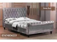 Swan sliegh bed X