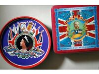Royal Tins: Silver Jubilee and 'King's Choice' Biscuit Tins