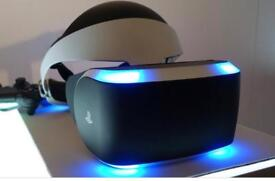 PlayStation VR with camera game and case
