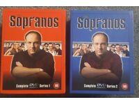 The Sopranos Complete Series 1 & 2 DVD
