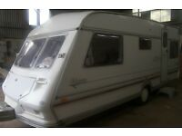ABBEY 5 BERTH END BEDS +AWNING