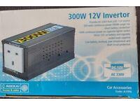 Nikkai 300 Watt 12 Volt Invertor.