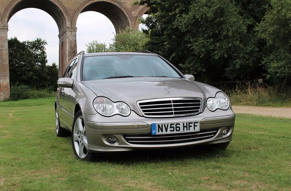 2006 mercedes benz c 320 cdi auto avantgarde estate 2 owners fresh service tow bar sat nav. Black Bedroom Furniture Sets. Home Design Ideas