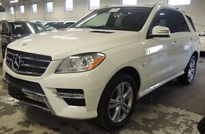 2012 Mercedes-Benz M-Class ML 350 BlueTEC, NAVIGATION, BACK UP C