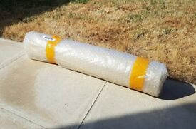 100M Carpet Floor Protector Self Adhesive Clear Roll Protection NEW