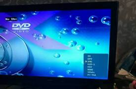 "Alba 22"" lcd tv dvd for sale"