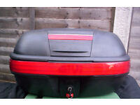 givi motorbike rear top box 40ltr