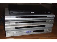 5 multiregion dvd players sony and philips