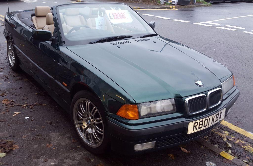 BMW I E DOOR CONVERTIBLE R REG DARK METALIC GREEN - Bmw 318i 2 door
