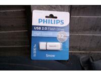new philips usb 2.0 flash drive high speed 32gb