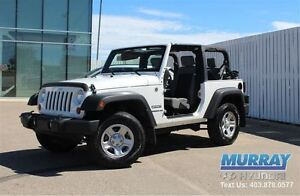 2010 Jeep Wrangler Sport | Local 1 Owner | Low Km's |