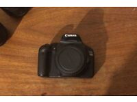 Canon 550 / 550D + 18-15mm lens £160 ONO
