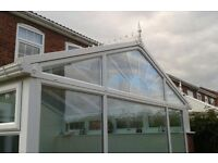 Self cleaning glass conservatory roof REDUCED £400!!!!!! BARGAIN