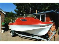 18ft Shetland 535 Sunstrip, Sea/broads fishing boat