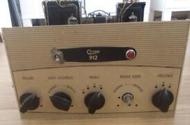 Rare Vintage Osram 912 Valve Amplifier Amp Retro Audiophile High End Sound