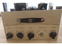 Rare Vintage Osram 912 Valve Amplifier Amp Retro Audiophile High End Sound