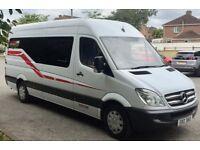 2012 Mercedes Benz Sprinter LWB 313cdi Campervan Contact James on 07803797917