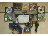 Playstation One Shooting Games plus accessories