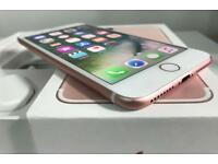 iPhone 7Plus 32GB Rose Gold locked on EE, T-Mobile, Orange and Vergin.