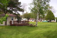 SAND BEACH LAKE HURON  COTTAGE  COURT 1,2,&3 BED COTTAGES