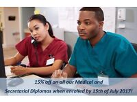 Medical Courses/Diplomas: Pitman Training Enfield: 15% Off