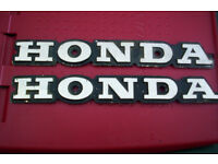 honda tank badges