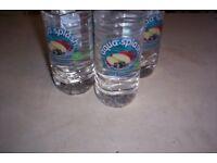 30 bottals of apple &blackcurrant water