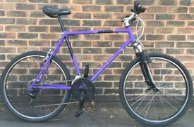 21inch Raleigh Mirache MTB Adults large Lightweight Hybrid mountain bike cycle bicycle