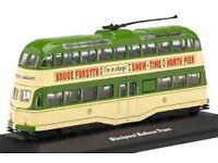 1:76 Scale Atlas Blackpool Ballon Tram 1960 M,London United Transport Feltham Tram Model