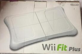 Wii Fit plus board & game dvd never opened brand new