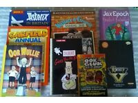 Graphic novel and annual selection from £2. Collection Reepham