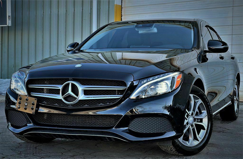 2016 Mercedes-Benz C-Class, BLACK with 91659 Miles available now!