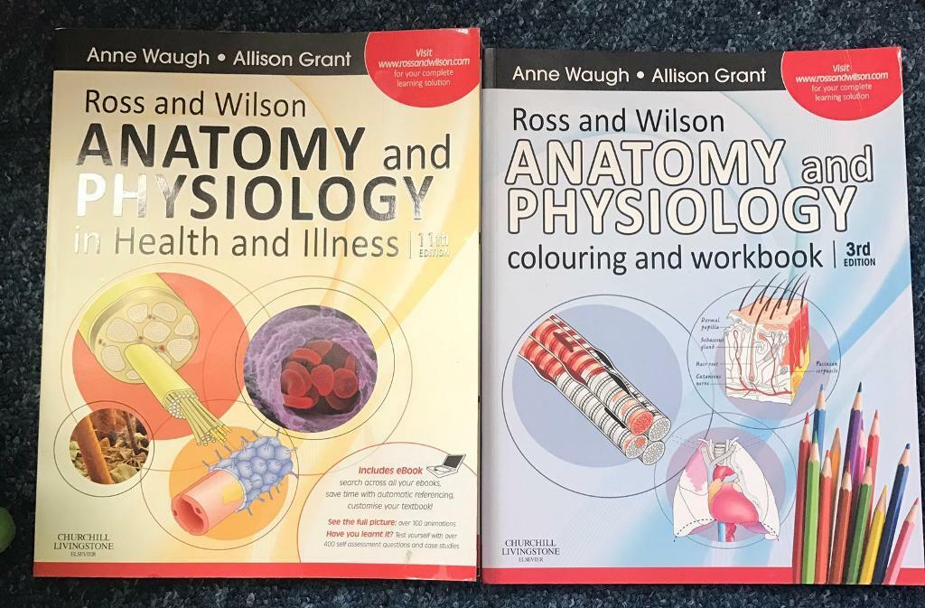 Nursing Books Anatomy and Physiology -Ross and Wilson | in Fulham ...