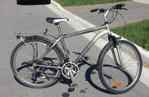 "Mountain Bike for Sale Fenders and Back pack carrier,  21 spd 18,5-""FRAME,  26""-TIRES, INFINITY"
