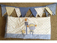 NEXT 'Cheeky Monkey' - Cot bumper, Lampshade, changing mat and more