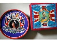 2x Royal Tins - Queen's Silver Jubilee 1977