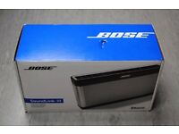 Bose SoundLink III Bluetooth Speaker Boxed Sealed £220