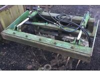 Silage Grab, Dung Grape Fitted With Quicke Euro No. 8 Brackets NO VAT