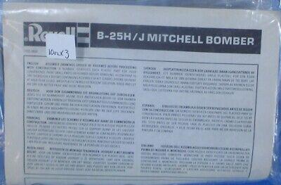 Revell 1:144 B-25 H/J Mitchell Bomber Plastic Aircraft Model Kit #1035UX