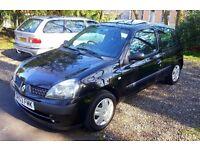 Renault Clio 1.2 16v 82k fsh full mot. Corsa Punto Micra Polo Yaris Kia Mini Panda c2 c3 107 206