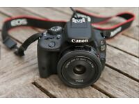 CANON 100d. compact DSLR with free ACCESSORIES
