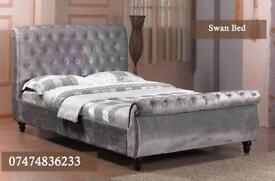 Swan sliegh bed wShE