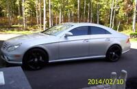 2006 Mercedes-Benz CLS-Class black Sedan