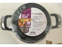 20cm High Quality Non-Stick Casserole Pot Pan with Bakelite Handles Saucepan
