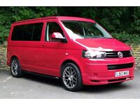 2012/12 VW Transporter SWB T5 4 Birth Pop Top Camper Van ABT Bodykit