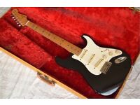 Vintage Fender Stratocaster 1959 + Original tweed hard case 1950's 1960's 1970's Gibson Antique