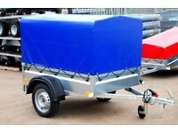5X4 car trailer 750kg single axle